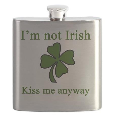 Im Not Irish Flask