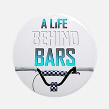 Life Behind Bars Round Ornament