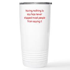 nothingtosay_btle2 Travel Mug
