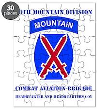 DUI - 10th Mountain Division - CAB HQ  HQ C Puzzle