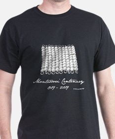 Hundred Square (mono) Black T-Shirt