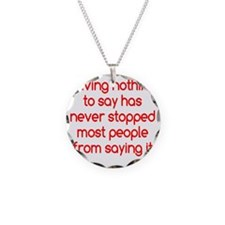 nothingtosay2 Necklace