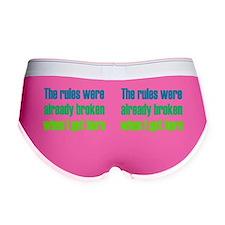 rules_mug1 Women's Boy Brief