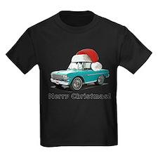 BabyAmericanMuscleCar_64NovA_Xmas_Green T-Shirt