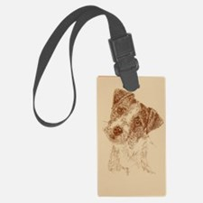 Jack_Russell_Rough_Kline Luggage Tag