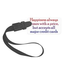 happinessprice_btle1 Luggage Tag