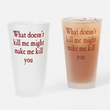 kill_me_rnd1 Drinking Glass