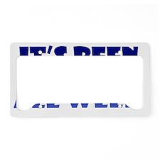 monday_btle2 License Plate Holder
