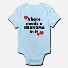 A home needs a Grandma in it Body Suit