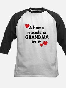 A home needs a Grandma in it Baseball Jersey