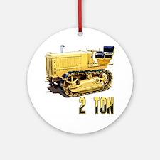 Cat2Ton-10 Round Ornament