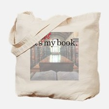 Its-Not-My-Book_16-20 Tote Bag