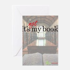 Its-Not-My-Book_16-20 Greeting Card