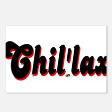 Chil'lax Postcards (Package of 8)