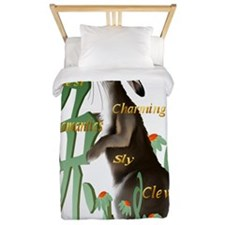The Year Of The Rabbit Trans Twin Duvet