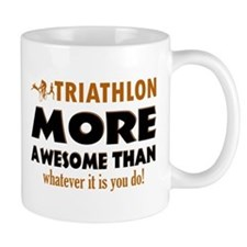 Triathlon is awesome designs Mug