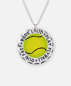 play flyball Necklace