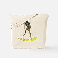 Navy Diver SCUBA Tote Bag