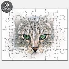 Widget Green Eyed Cat Puzzle