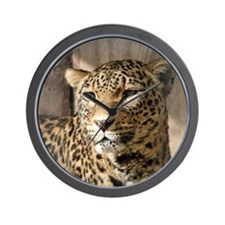 Leopard001 Wall Clock