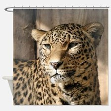Leopard001 Shower Curtain