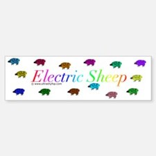 Electric Sheep Bumper Sticker (Bumper)