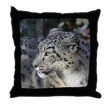 Leopard002 Throw Pillow