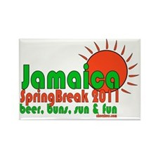 jamaicaspringbreak Rectangle Magnet