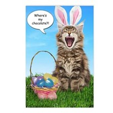 easterkitten_greet Postcards (Package of 8)