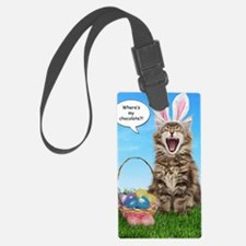 easterkitten_greet Luggage Tag