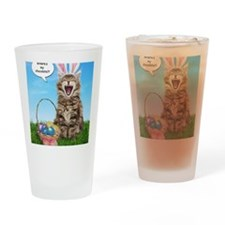 easterkitten_greet Drinking Glass
