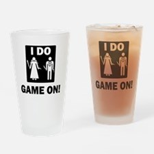 Game On-01 Drinking Glass