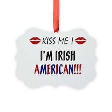 kissme_irish_american Ornament
