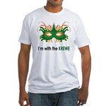 With the Krewe Fitted T-Shirt