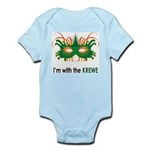 With the Krewe Infant Bodysuit