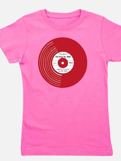 I Heart Vinyl Girl's Tee