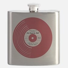I Heart Vinyl Flask
