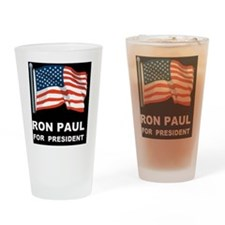 ron paul for president d Drinking Glass