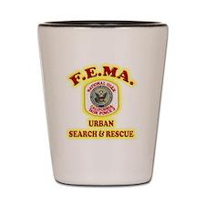 FEMA Shot Glass