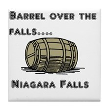 barrel Tile Coaster