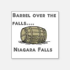 """barrel Square Sticker 3"""" x 3"""""""