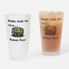 barrel Drinking Glass