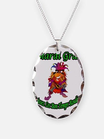 MARDI GRAS JOKER Necklace