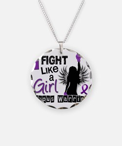 Fight Like A Girl Lupus 26.2 Necklace
