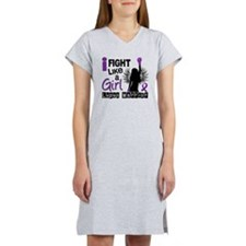 Fight Like A Girl Lupus 26.2 Women's Nightshirt