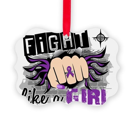 Fight Like A Girl Lupus 27.8 Picture Ornament
