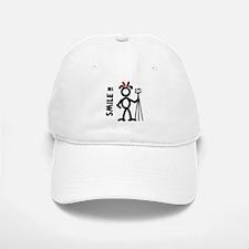 Red Smile3 Cap