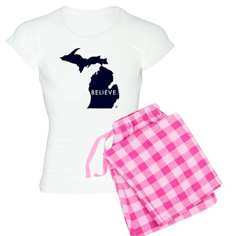 Believe in Michigan Women's Light Pajamas