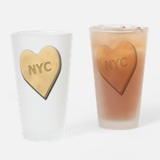 SWEETHEARTNYCYELLOW Drinking Glass
