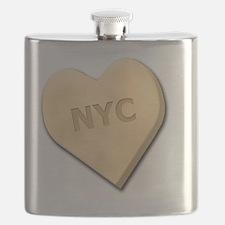 SWEETHEARTNYCYELLOW Flask